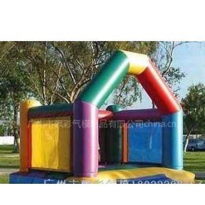 供应广州儿童玩具大型滑梯拱门价格充气蹦蹦床儿童气垫