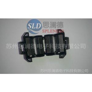 供应苏州磁环厂家 常州扣式磁环 卡扣式滤波磁通 UF-90A 20*9.5*31