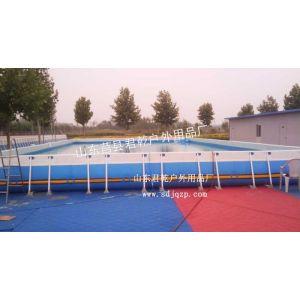 山东君乾拆卸式泳池3000平米