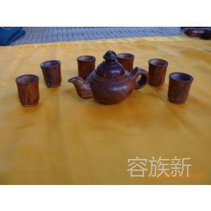 供应提供三亚旅游服务纪念品  正宗海南黄花梨茶具
