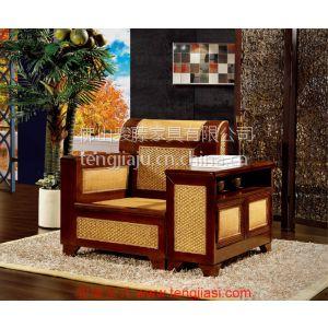 供应会议办公沙发家具定制 藤编办公沙发成套家具品牌批发