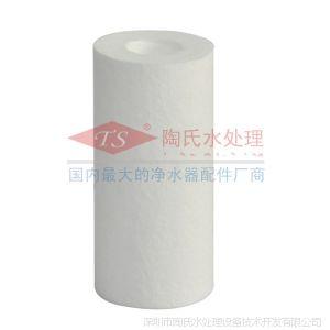 供应5寸PP棉滤芯 净水器过滤芯 纯水机前置使用滤芯 熔喷PP滤芯
