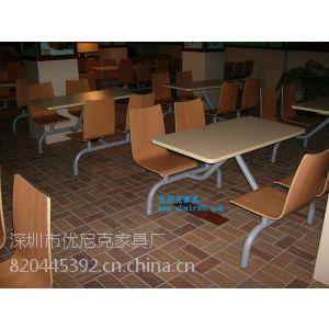 供应曲木快餐桌椅,防火板餐桌,餐厅家具,深圳快餐桌椅厂家