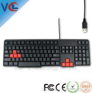 供应键盘秒批 新款笔记本电脑游戏键盘 商务办公网吧实用特色游戏键盘