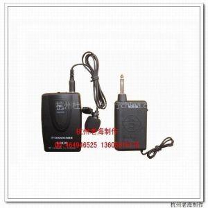 供应杭州便携式领夹无线话筒 终结版VHF无线麦克风 主持、教学、演唱、录音,电脑专用