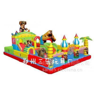 供应大型小型中型儿童充气城堡现货厂家直销价格优惠