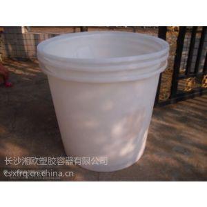 供应郴州塑料PE圆桶 邵阳塑料滚塑桶 常德塑料大白桶