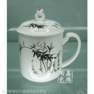 供应青花茶杯,白瓷礼品茶杯