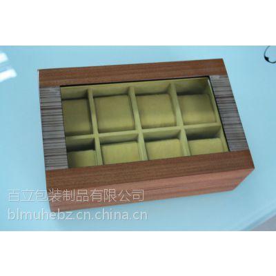 供应直销复古木制工艺仿古首饰盒珠宝盒手表包装盒化妆盒礼品盒