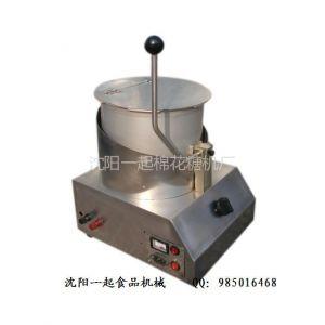 供应沈阳一起奶油巧克力爆米花机器 燃气电动单锅爆谷机