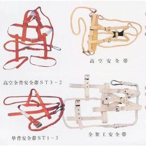 供应五点式安全带,双钩双控欧式缓冲安全带