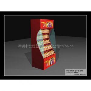 供应深圳宝安西乡专业提供商场包柱展示柜展示架形象柜形象堆头架 吊旗灯箱水晶亚克力货架