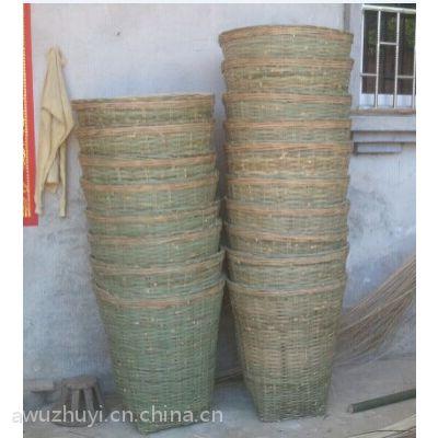 供应景区竹编垃圾筐 竹箩筐 竹筐 竹篮定制各种尺寸 竹制品
