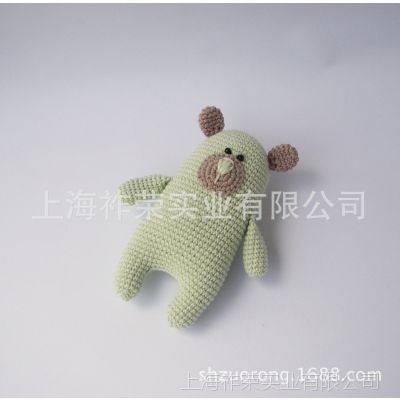 [厂家直销]毛线针织玩偶 毛线编织娃娃 毛线公仔 手工钩织玩偶