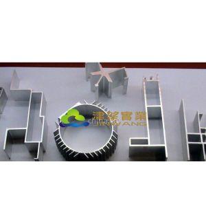 天津机械配件铝型材挤压加工厂 山东建筑流水线铝型材喷涂车间
