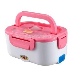 广东电子保温饭盒 插电加热饭盒生产厂家直销 节日礼品促销赠品小家电