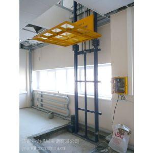 供应供应广东湛江市单体导轨升降货梯 双体导轨升降货梯