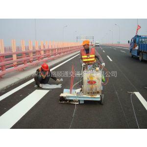 供应深圳道路标线施工,交通工程专业施工队,龙华道路指示通行标线
