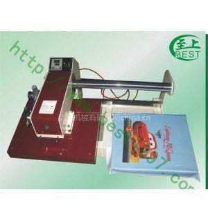 供应滑臂式气动双工位烫画机烫钻机平板打印机