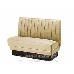 供应青岛酒店桌椅厂 专业定做酒店餐桌餐椅 西餐桌椅 卡座沙发高档咖啡桌椅等可来样定做