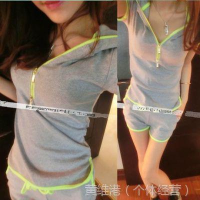 新款短袖运动装欧美短裤休闲装