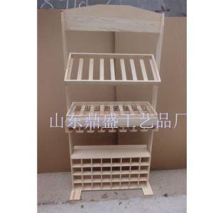 供应酒架木质红酒架红酒展示架实木酒架高档喷漆木制酒架
