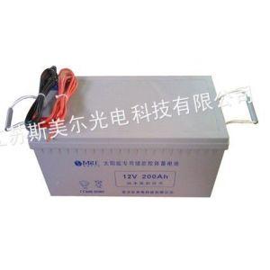 供应12V180AH太阳能路灯工程专用储能胶体蓄电池