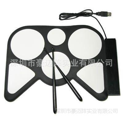 电子鼓 电子鼓硅胶皮 硅胶电子鼓 USB电子鼓 儿童电子鼓