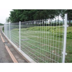 供应苏州钢丝网围栏 烤漆焊接网栏 专业防护护栏网