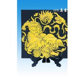 乌金碳雕/炭雕/活性炭雕/商务礼品/炭雕礼品-瑞狮