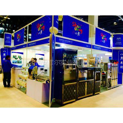 济南安吉尔饮水机型号6E60L,开水,温开水,不锈钢饮水机