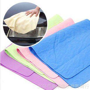 多功能鹿皮巾30*40干发毛巾鹿皮毛巾巾吸水毛巾洗车毛巾擦车巾