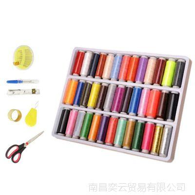 奕辰厂家热销多功能针线包缝补内含线头剪顶针多色线