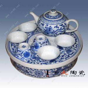 供应陶瓷茶具批发,定做景德镇青花瓷茶具