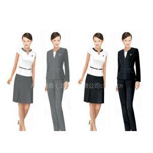 供应女士职业装定做|夏季制服订制|女士套裙定制|女士衬衫订购