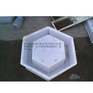 防护护坡-供应:正 六角空心塑料模具 六棱空心砖塑