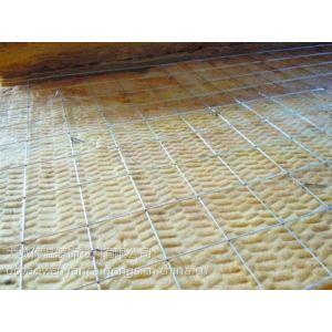 供应镀铝锌钢丝网岩棉板生产厂家¥¥¥钢丝网插丝岩棉板价格