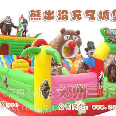 供应什么牌子的儿童充气蹦蹦床质量比较好/四川公园经营充气城堡赚钱多