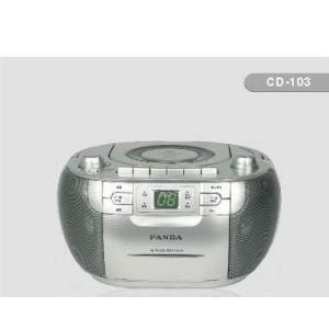 供应熊猫CD103手提式CD播放机