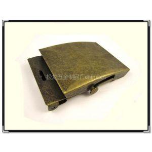 供应环保光面38mm军扣,古铜色铁皮滑动扣