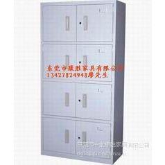 烤漆:员工宿舍衣柜|铁制工衣柜|4门铁皮工衣柜《厂价直销》