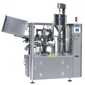 供应ZHF-100YC全自动软管灌装封尾机,中环化妆品类灌装封尾机