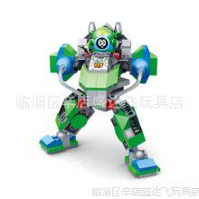 大号星钻积木 正品赛尔号机器人积木 赛小息阿铁打艾里逊拼装玩具