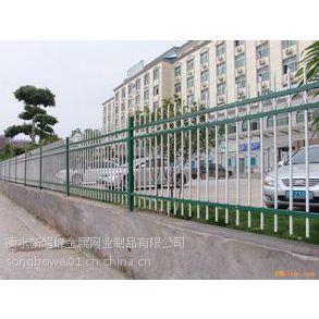 双向弯头锌钢护栏锌合金 市政园林防护网隔离活动护栏锌钢交通设