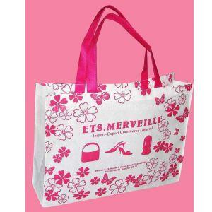 供应扬州无纺布塑料袋|江都超市环保袋|宝应包装袋