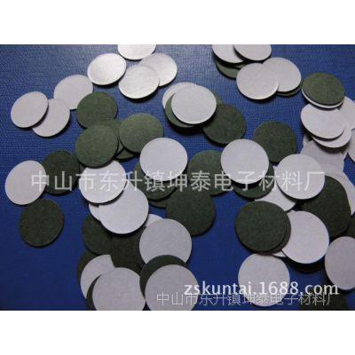 厂家供应冲型电池绝缘垫片 成品型青壳纸 优质复合纸 黑色PVC 背胶青稞纸