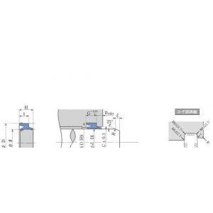 供应PDU型日本阪上(SAKAGAMI)密封件