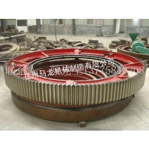 供应厂家长期供应2.6*13米zg45#材质球磨机配件、大齿轮
