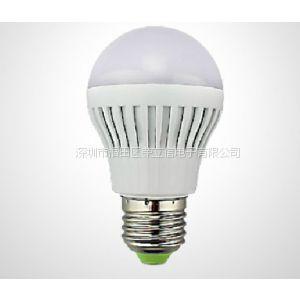 供应新款led声控灯泡 节能球泡灯延时3W 车库 楼梯室内照明正品促销