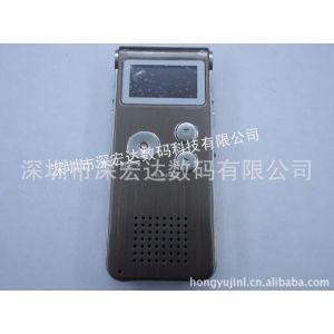 供应供应新款锂电插卡超大声私模外壳数码mp3录音笔